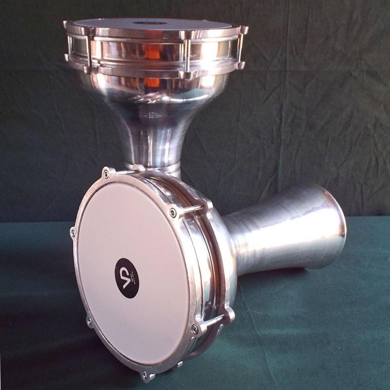 Darbuka turca, aluminio