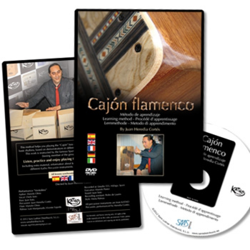 DVD Cajon learning method
