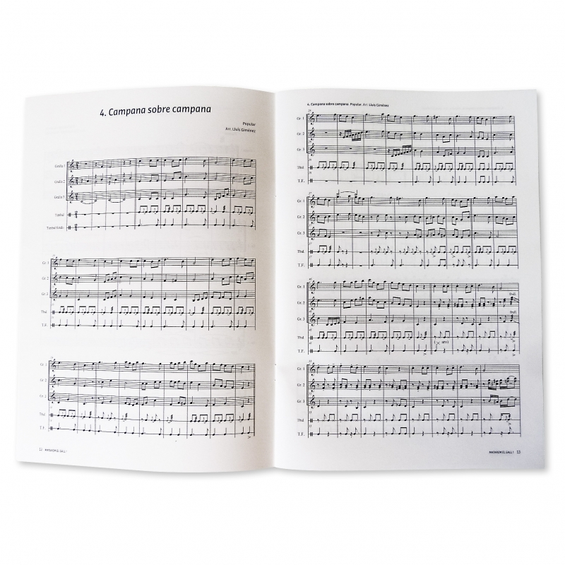 Catalan sheet music book (5)
