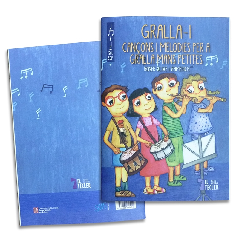 Catalan sheet music book infantil 1