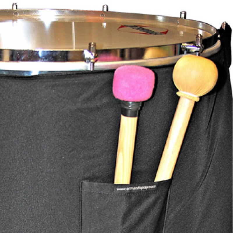 Pocket accessory for percussion instr.