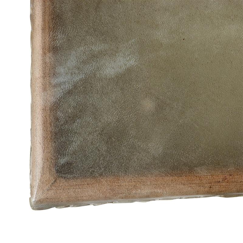 Pandeiro cuadrado de piel