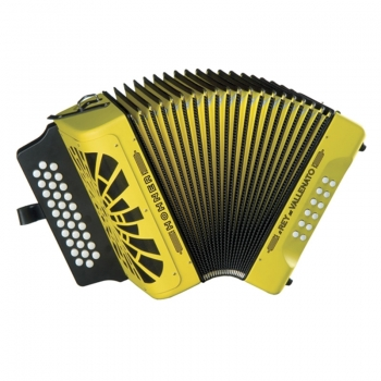 "Diatonic accordion ""El Rey del Vallenato"""