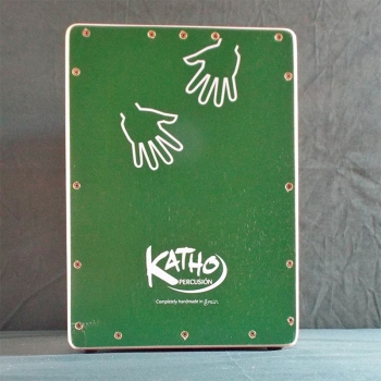 Flamenco Junior Cajón Kadete, green