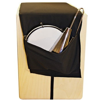 Pocket accessory for box drum