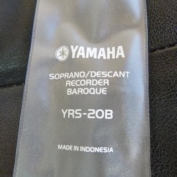 Sopran recorder Yamaha